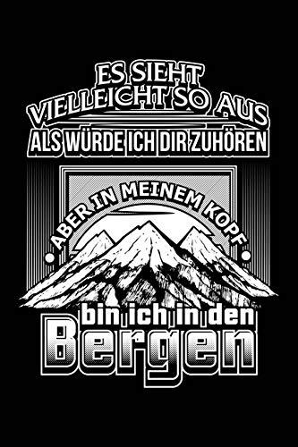 Im Kopf in den Bergen: Notizbuch / Notizheft für Wandern Berg-Wandern Bergsteigen Klettern Outdoor Trekking Camping A5 (6x9in) liniert mit Linien