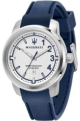 Maserati Royale Mens Analogue Quartz Watch with Silicone Bracelet R8851137003