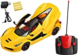 #9: Magicwand Remote Controlled Rechargeable Ferrari Toy Car - Bright Yellow