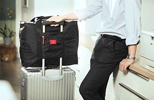 Ducomi® Travelcity Borsa Pieghevole Impermeabile da Viaggio (Misura: 41 x