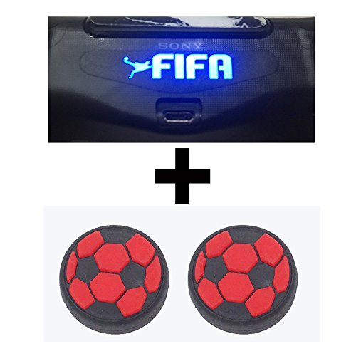 AL Pacino Fifa Led light bar decal sticker & football thumb grip for PS4 controller  available at amazon for Rs.249