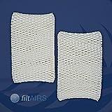 Die besten Luftbefeuchter Filter - 2 Stück Luftbefeuchtungsfilter für Philips Luftbefeuchter HU4813, HU4811 Bewertungen
