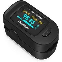 Pulsossimetro, CocoBear Monitore di Battito Cardiaco Portatile con OLED Display, FED e CE Certificato per Misurazione di…
