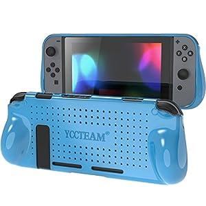 Yccteam Schutzhülle für Nintendo Switch Konsole, Stoßdämpfung und kratzfestes Design,bequeme TPU-Schutzhülle
