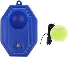 Sharplace Tennistrainer Tennistrainer Ball und Bodenplatte mit Schnur