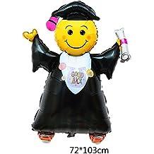 """Ximkee Helium foil gonfiabile laurea Boy Balloons party Decoration supplies-40""""X2PCS"""