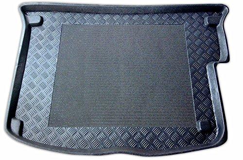 Rezaw - Plast 100107M Alfombrillas para maletero , Cubeta para maletero (Borde de protección de 5 cm, antideslizante, ligera y flexible)