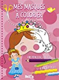 Mes masques de princesses à colorier...