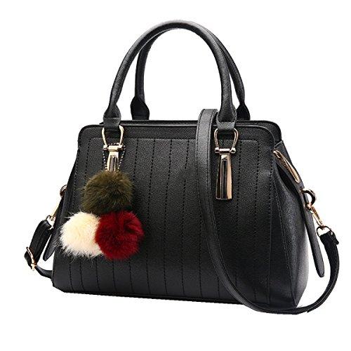 Yy.f Nuove Borse Di Moda Tote Bag Spiraea Ricchi Borse Da Donna Di Lusso Alla Moda Portafoglio Mobile Multicolor Black