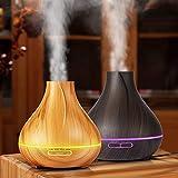 Best Homedics Water Bottles - Gaddrt Air Purifier 400ML Wooden Large Capacity Air Review