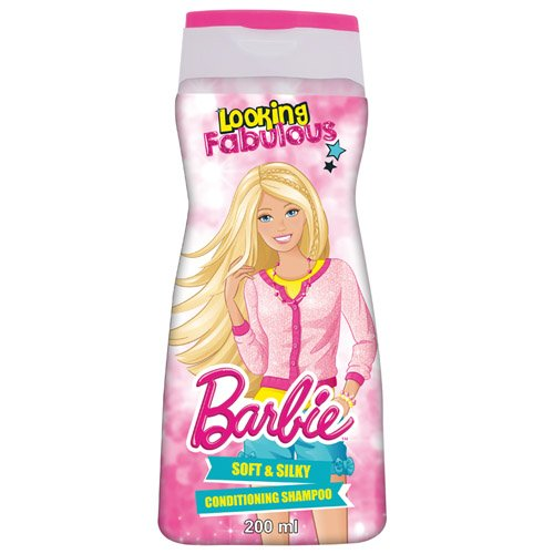 Barbie Shampoo, Soft and Silky, 200 ml