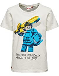 Lego Wear Boy Nexo Knights Teo 201, T-Shirt Garçon