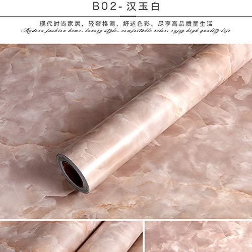 Pegatinas nacaradas papel mármol engrosamiento láser