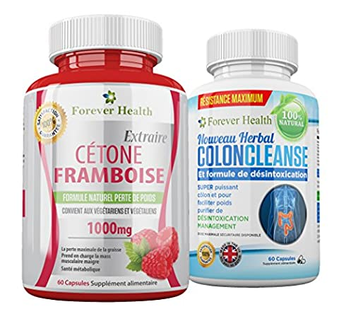 Wild Raspberry Ketone - CETONE FRAMBOISE Raspberry Ketone + Herbal COLON