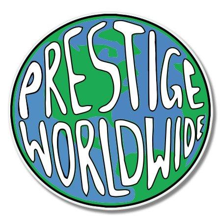 VINMEA Prestige Worldwide Vinyl Sticker - Car Window Bumper Laptop - 6-Inch