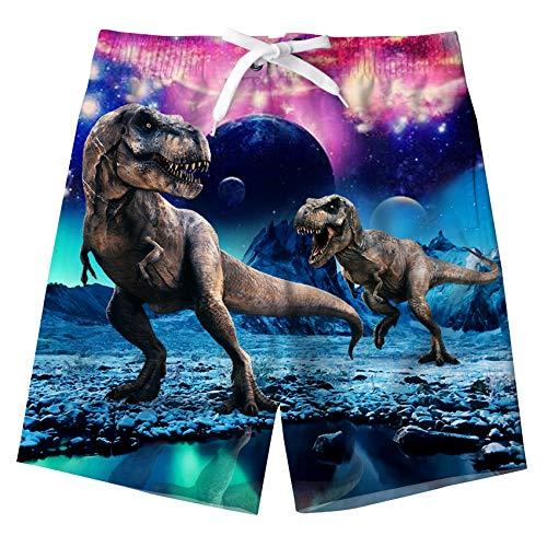 Idgreatim - Bañador - niño Dinosaurio XS 5-6 años