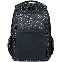Roxy Here You Are Mix Mochila Mediana, Mujer, Gris/Negro (True Black