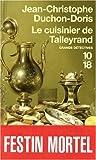 CUISINIER DE TALLEYRAND