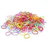quner Mädchen Elastic Haar Seil Gummi Haarbänder Elastic Hair Bands für kleine Mädchen Teens Kleinkind Kids Kinder Elastische Gummi Bands, 1500teilig