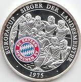 Medaille FC Bayern München Polierte Platte Europacup Sieger 1975 (Münzen für Sammler)
