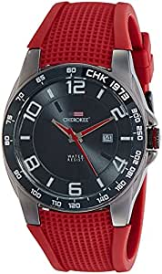 Cherokee Analog Black Dial Men's Watch - 400013120571