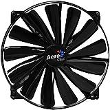 Aerocool Dark Force Ventilateur de boîtier 200 mm Noir