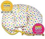 Cuscino per allattamento Premium in cotone 4 in 1 con mini guanciale e cuscino Mini (multicolore)