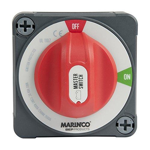 Marinco 69–770dpezo Batterie Schalter, grau/rot, Einheitsgröße