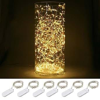 blinngo pack 6 guirlandes lumineuses piles inclues 30 led. Black Bedroom Furniture Sets. Home Design Ideas