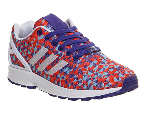 adidas - ZX Flux Weave, Senakers a collo basso, unisex Multicolore