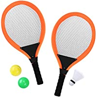 TOYMYTOY Par de tenis de bádminton Raquetas de bádminton Raquetas de tenis de tenis de agua para niños
