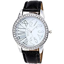 Watch, Tonwalk Women Crystal Pattern Analog Quartz Vogue Wrist Watches