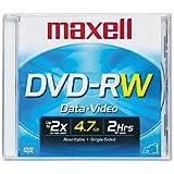 Maxell® DVD-RW Réinscriptible