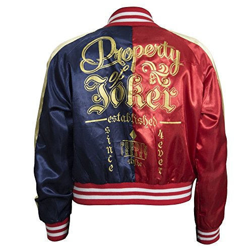 Suicide Squad Harley Quinn Property of Joker Jacket Medium (Medium)