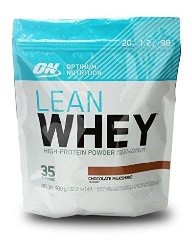 Optimum Nutrition Lean Whey Chocolate, 1er Pack (1 x 930 g)