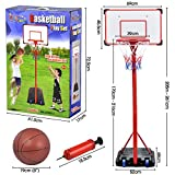 Best Basketball Hoops - Outdoortips Fully Adjustable Free standing Basketball Back Board Review