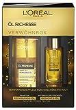 L'Oréal Paris Öl Richesse Reinigungs- und Gesichtsöl verwöhnendes Pflege-Set, 1 Stück