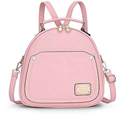 sotica-pu-leather-designer-mini-backpack-purse-handbag-for-women-and-girls-pink