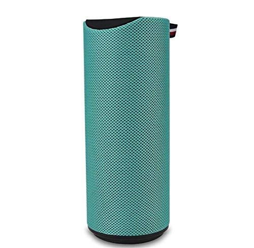 Bluetooth-Lautsprecher Wireless Subwoofer Mini Bluetooth Audio Karte im Freien Lautsprecher, Green