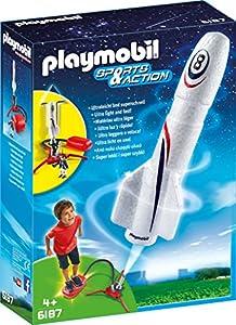 PLAYMOBIL 6187 - Rakete mit Spring-Booster