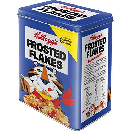 Nostalgic-Art 30127 Kellogg's Frosted Flakes Tony Tiger blue, Vorratsdose L