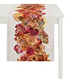 APELT Läufer, Baumwolle, rot, 40 x 140 x 0.2 cm