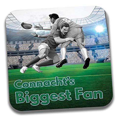 Connacht's Biggest Fan Rugby Untersetzer - Geburtstagsgeschenk/Strumpffüller