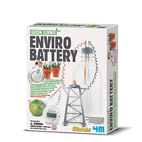 Naturliche Batterien Experimentier - Glühbirne Experiment