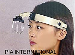 2x/3.5x/4.5x/5.5x Multi Power Helmet Magnifier Head Magnifying Glass Loupe
