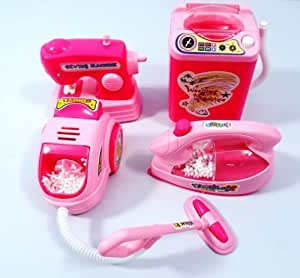 Battery Operated Mini Household Kitchen Sets Toys Kitchen Sets Toys for Gils