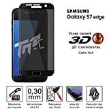 TM-Concept Verre trempé teinté 3D incurvé - Samsung Galaxy S7 Edge - Fonction...