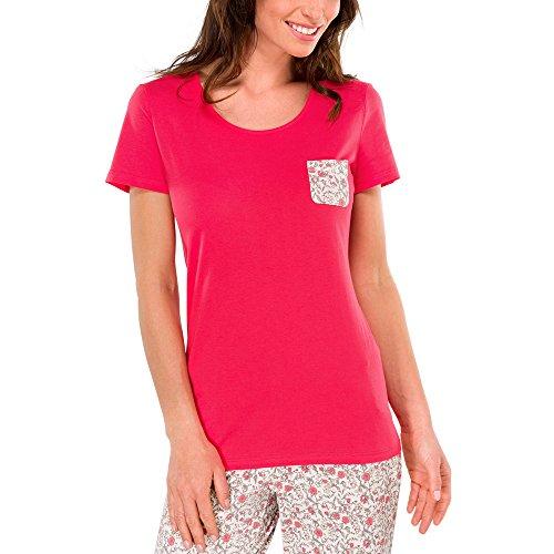 Schiesser - Shirt 1/2 Arm, Pajama camicia da donna rosso(Rot (rot 500))
