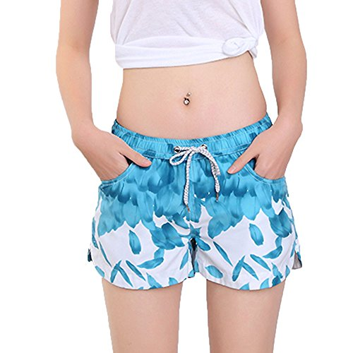 Bikini,Honestyi Womens Shorts Badehose Schnell Trocken Strand Surfen Laufen Schwimmen Wasser Hose Frauen Lässige Sweatpants Strandhose (Sweatpant-sets Womens)