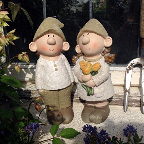 Statuette da giardino